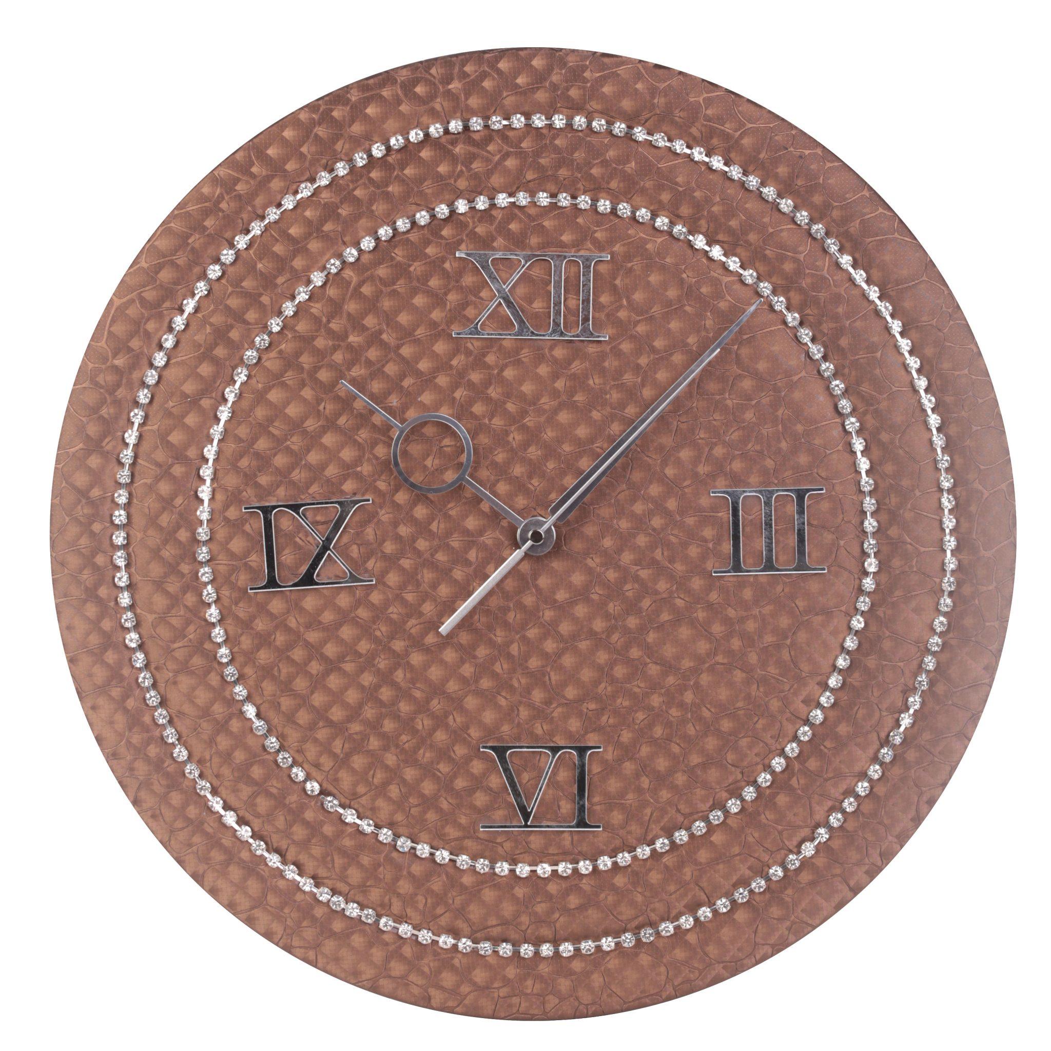 orologio da parete ecopelle cassiopea